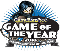 Independent RPG of the Year 2010
