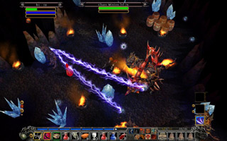 Din's Curse: Demon War screenshot
