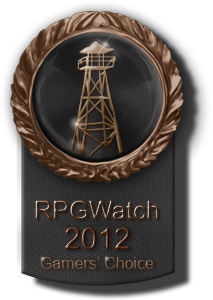 Best Indie RPG - 3rd place